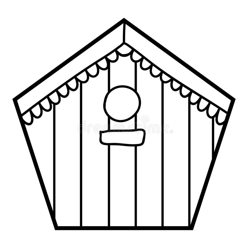 Birds near a Birdhouse coloring page | Free Printable Coloring Pages | 800x800