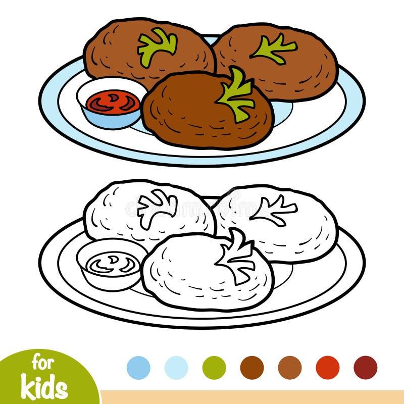 Burger Coloring Stock Illustrations 257 Burger Coloring