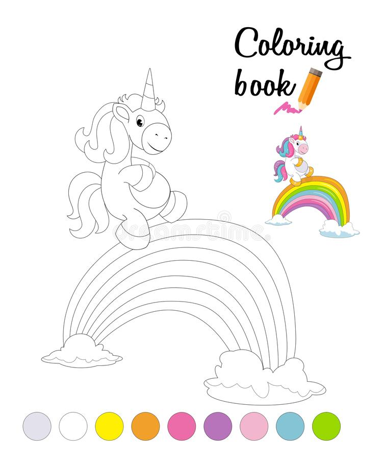 Coloring Rainbow Stock Illustrations – 4,670 Coloring Rainbow ...