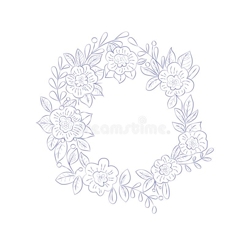Flower Garland Coloring Stock Illustrations 292 Flower Garland Coloring Stock Illustrations Vectors Clipart Dreamstime