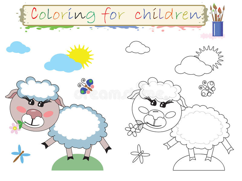 Download Coloring for children stock vector. Image of outline - 23185275