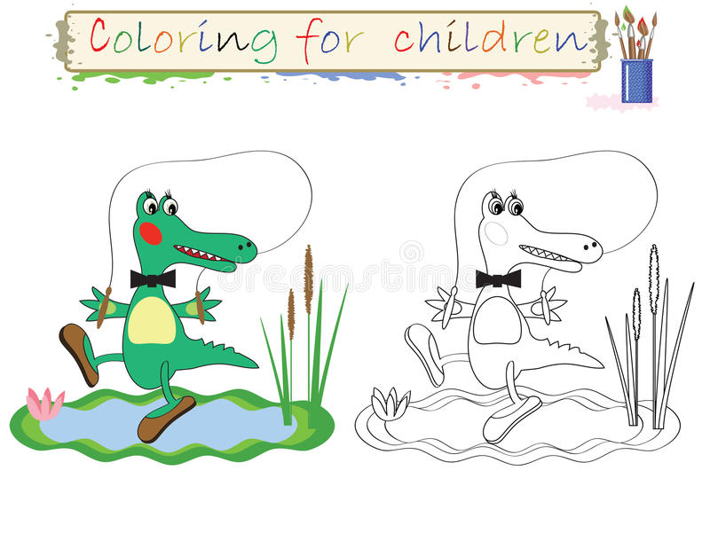 Coloring for children . royalty free illustration