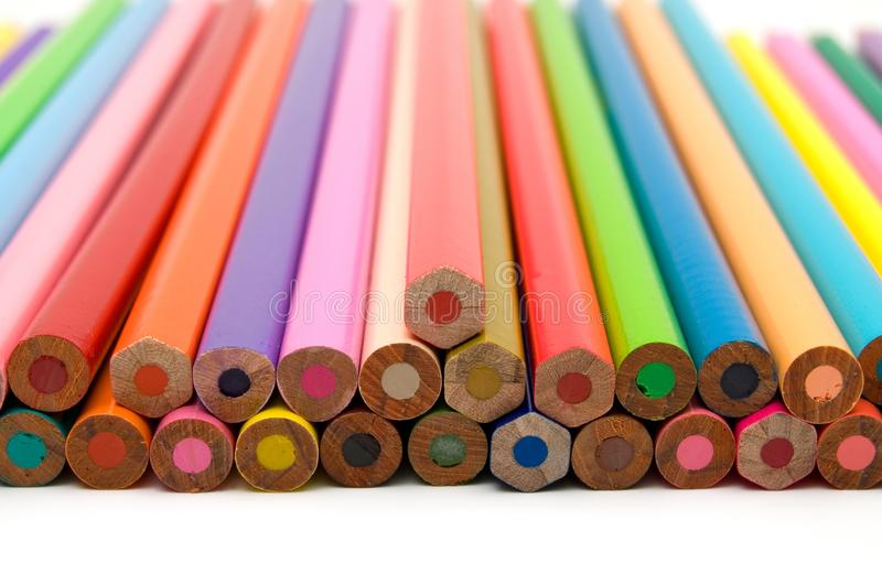 Coloring Crayons Close Up stock photo. Image of green - 104288946