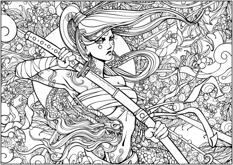 Dragon Coloring Page Stock Illustrations – 1,683 Dragon Coloring Page Stock  Illustrations, Vectors & Clipart - Dreamstime