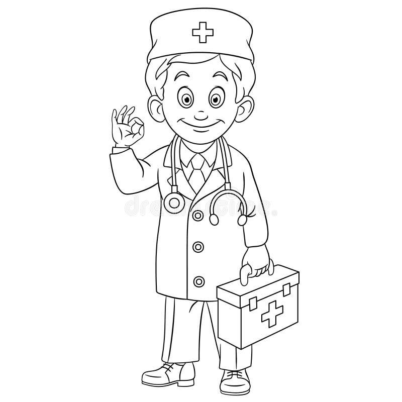 Doctor Coloring Book Equipment Stock Illustrations 52 Doctor Coloring Book Equipment Stock Illustrations Vectors Clipart Dreamstime