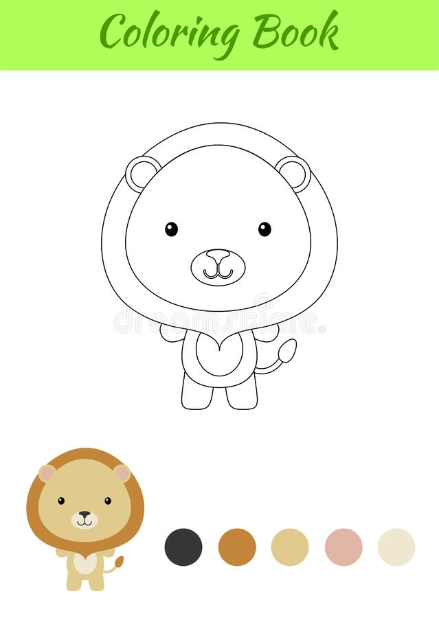 Lion and Cub coloring page | Download Free Lion and Cub coloring page for  kids | Best Coloring Pages | 900x639
