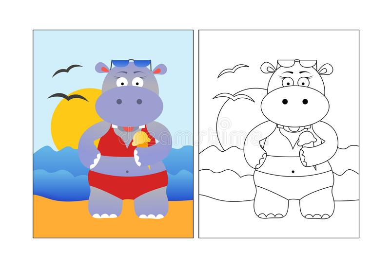 Beach Coloring Pages - Beach Scenes & Activities | 551x800