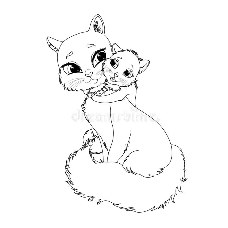 cute kitten coloring pages free printable – theengles.info | 800x800