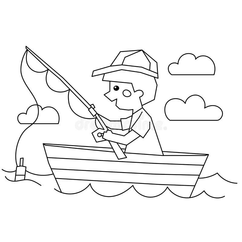 Boy Fishing Boat Stock Illustrations 509 Boy Fishing Boat Stock Illustrations Vectors Clipart Dreamstime
