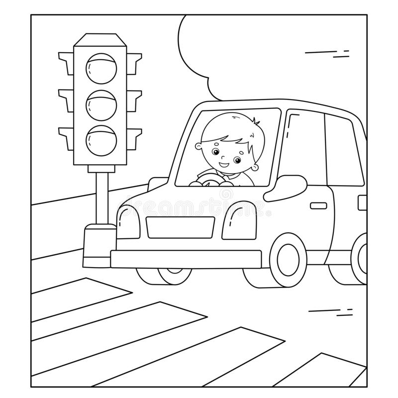 DRAW AND COLOR TRAFFIC SIGNS AND ROAD SIGNS FOR KIDS -TRAFFIC ... | 800x800