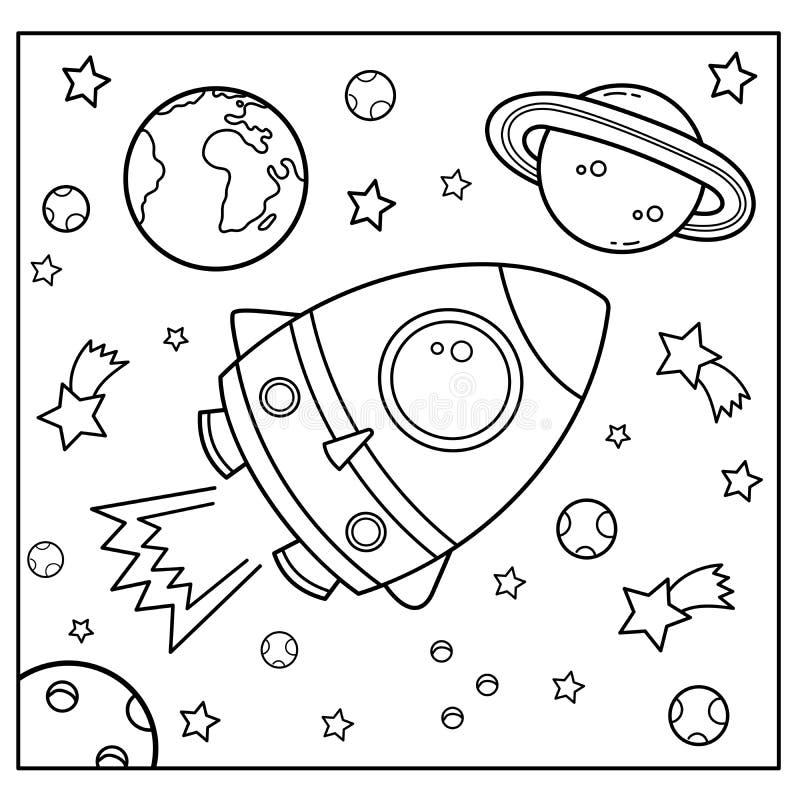 Cartoon Coloring Rocket Stock Illustrations 1 003 Cartoon Coloring Rocket Stock Illustrations Vectors Clipart Dreamstime