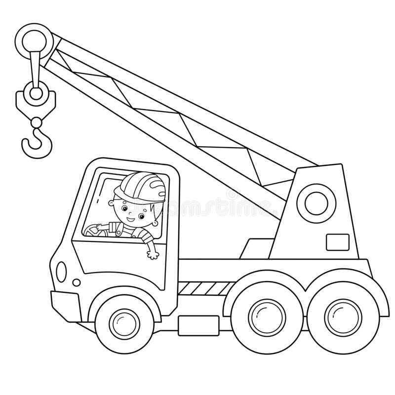 Coloring Page Construction Stock Illustrations 1 027 Coloring Page Construction Stock Illustrations Vectors Clipart Dreamstime