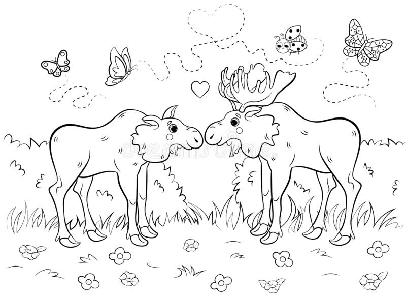 Couple Coloring Page Stock Illustrations 977 Couple Coloring Page Stock Illustrations Vectors Clipart Dreamstime