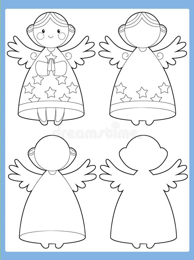 Download The Coloring Page With Pattern - Illustration For The Kids Stock Illustration - Image: 33421980