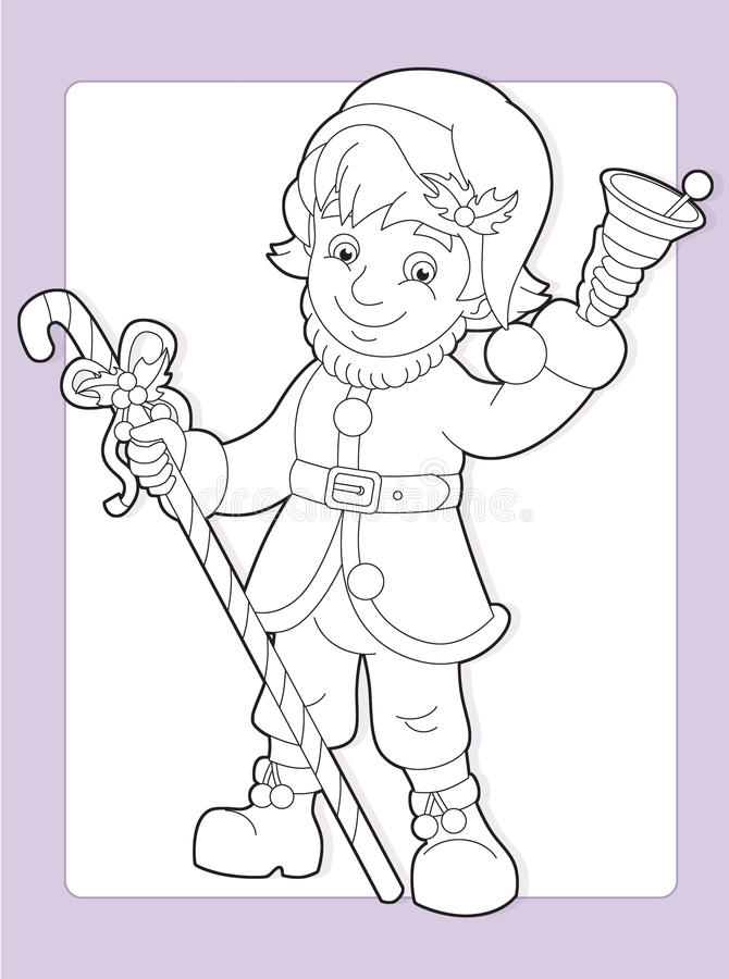 Download The Coloring Page With Pattern - Illustration For The Kids Stock Illustration - Illustration of cute, icon: 33422180