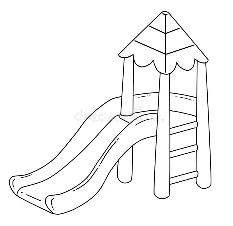 Playground 06   Playground Coloring Pages   playground coloring ...   774x800
