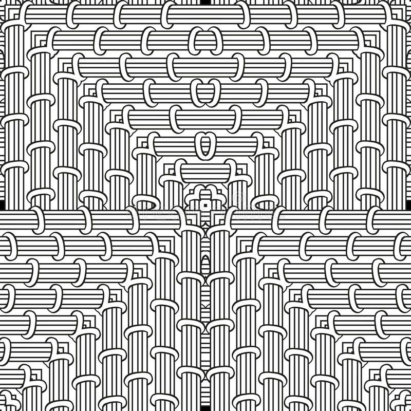 Download Coloring Page Seamless Pattern Zendoodle For Art Book Square