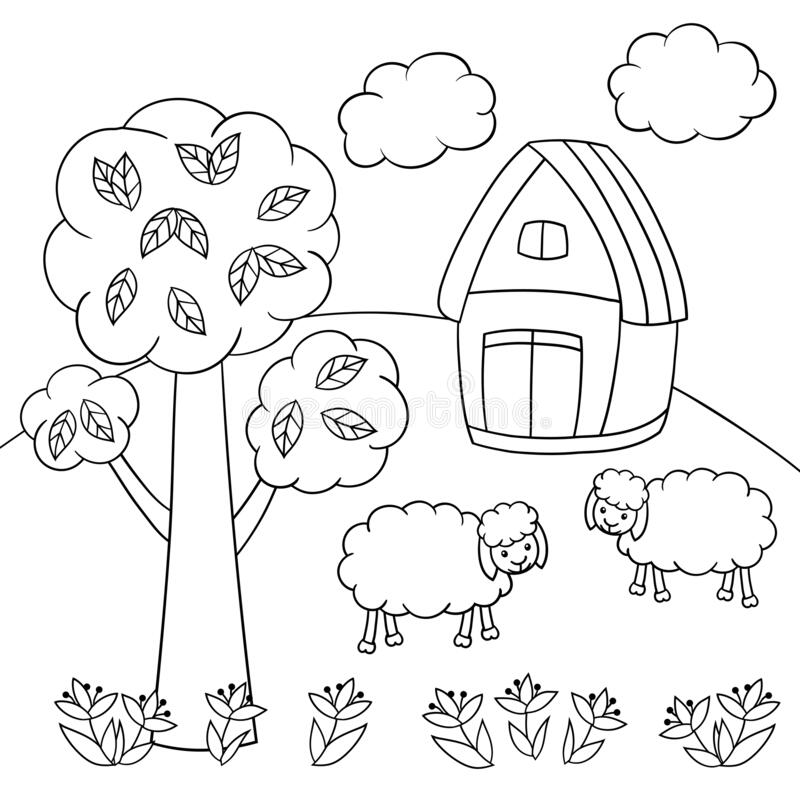 Coloring Page Tree Stock Illustrations 7 753 Coloring Page Tree Stock Illustrations Vectors Clipart Dreamstime