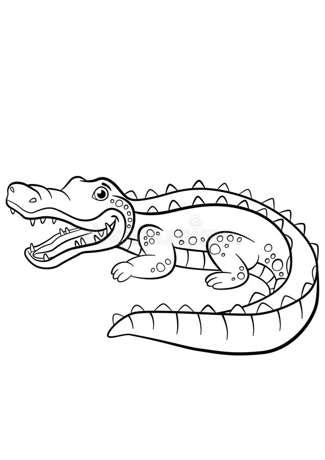 Alligator Coloring Pages | Cool2bKids | 900x636