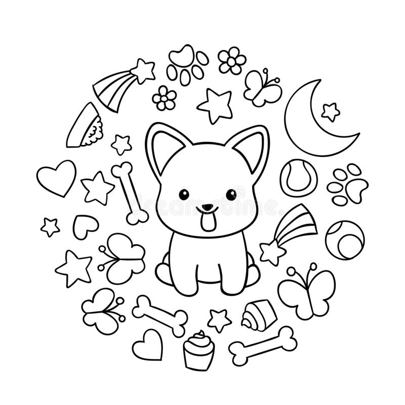 Kawaii Coloring Pages Stock Illustrations 426 Kawaii Coloring Pages Stock Illustrations Vectors Clipart Dreamstime
