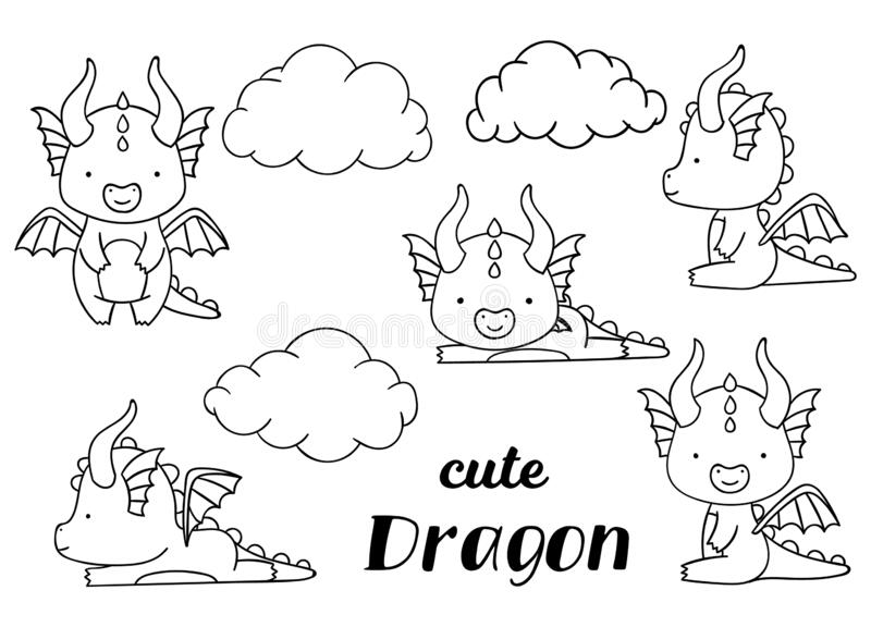 Downloads the latest Coloring Pages Dragons, Worksheets, Pictures ... | 576x800
