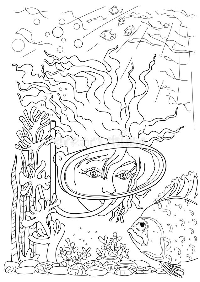 Seaweed Coloring Pages - Cliparts.co | 900x637