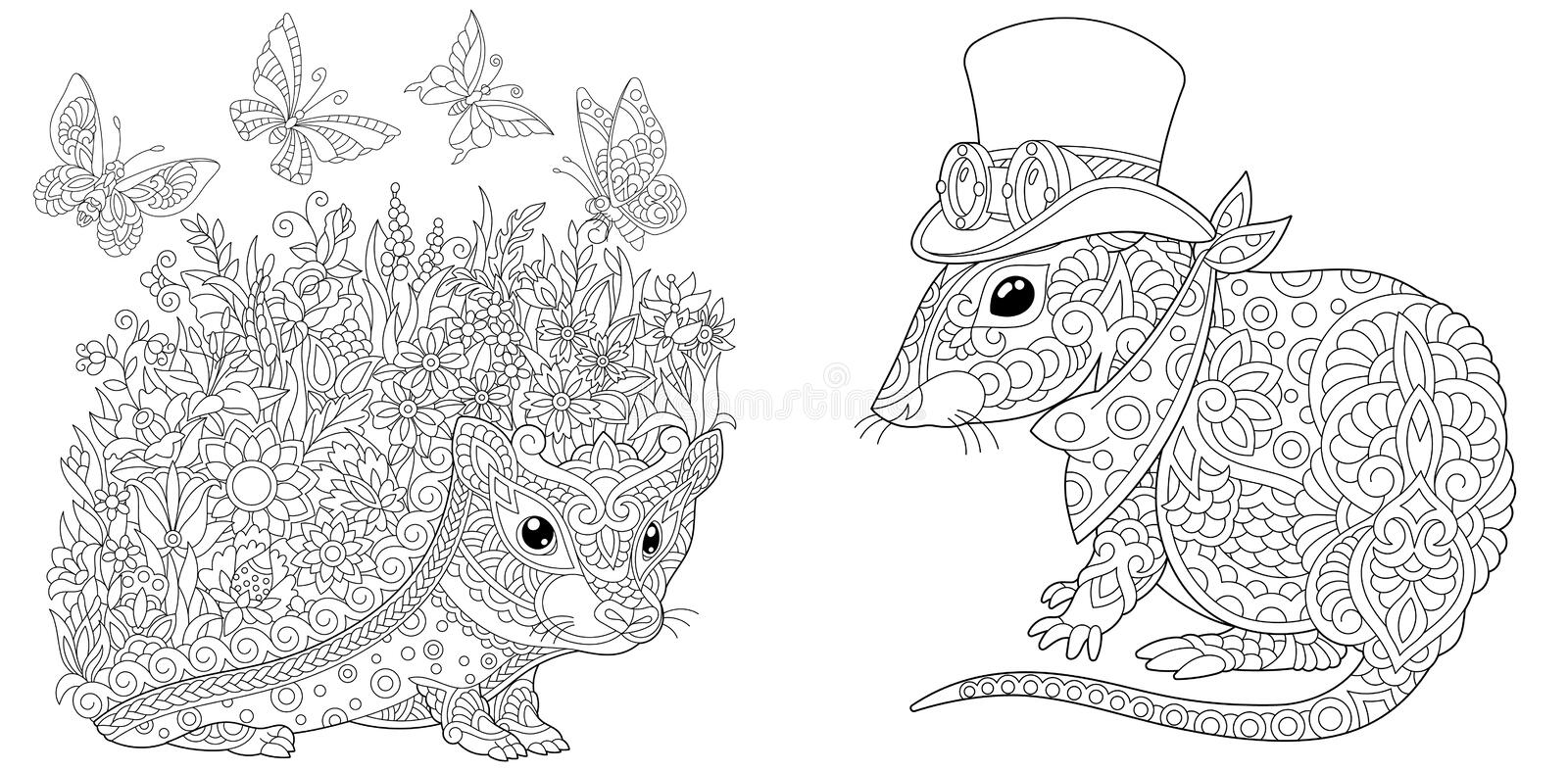 Hedgehog Coloring Pages for Children. 100 Images. Print Them Online!   394x800