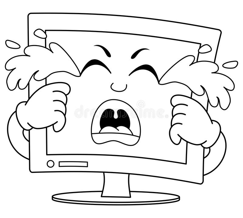 computer speakers coloring pages sketch coloring page