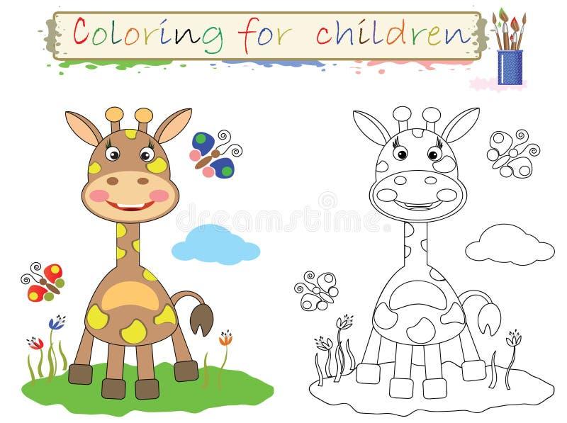 Coloritura per i bambini. royalty illustrazione gratis