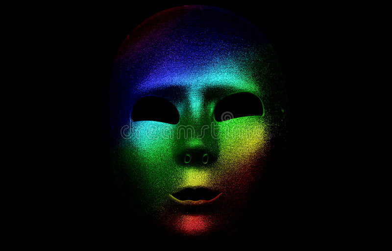 colorized маска стоковая фотография rf