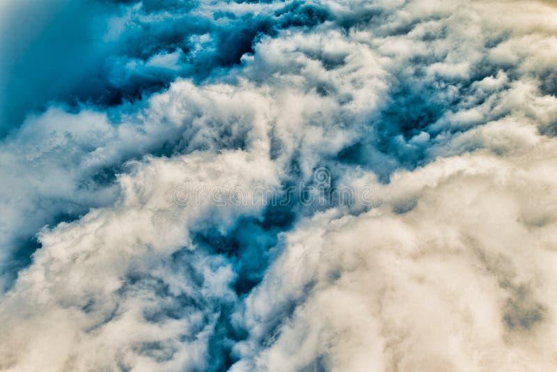 Colorized Cloudscape stockbild