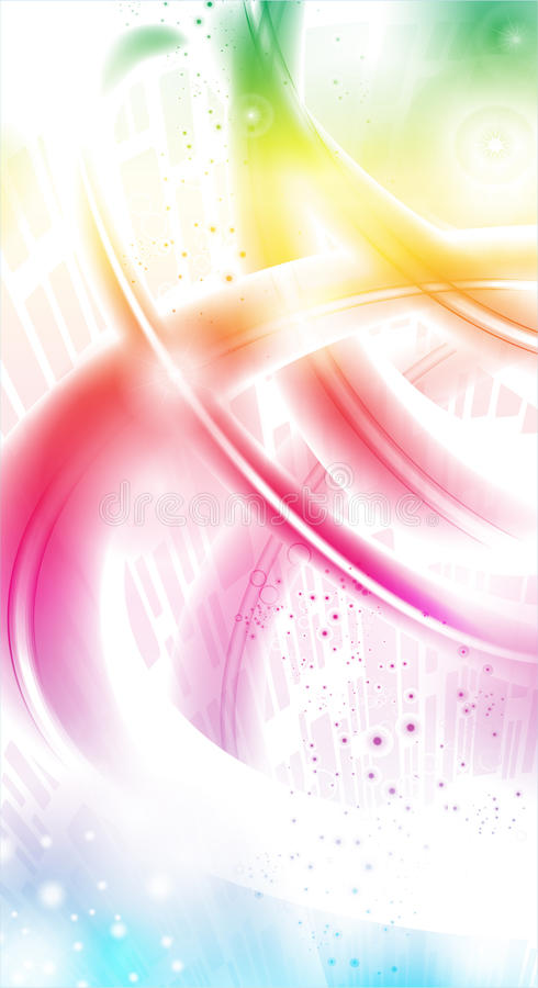 colorl γαλαξίας απεικόνιση αποθεμάτων