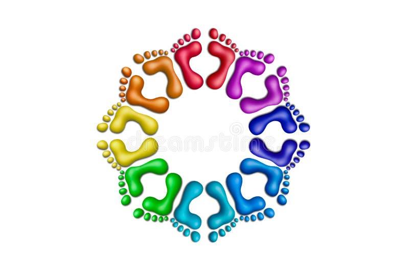 Colors-29 unito royalty illustrazione gratis