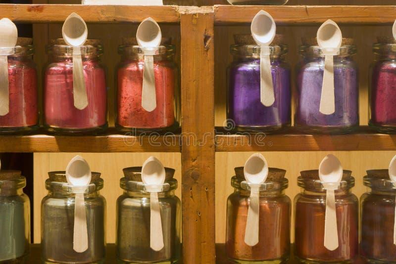 Download Colors stock image. Image of market, deco, rack, dyestuff - 4779483