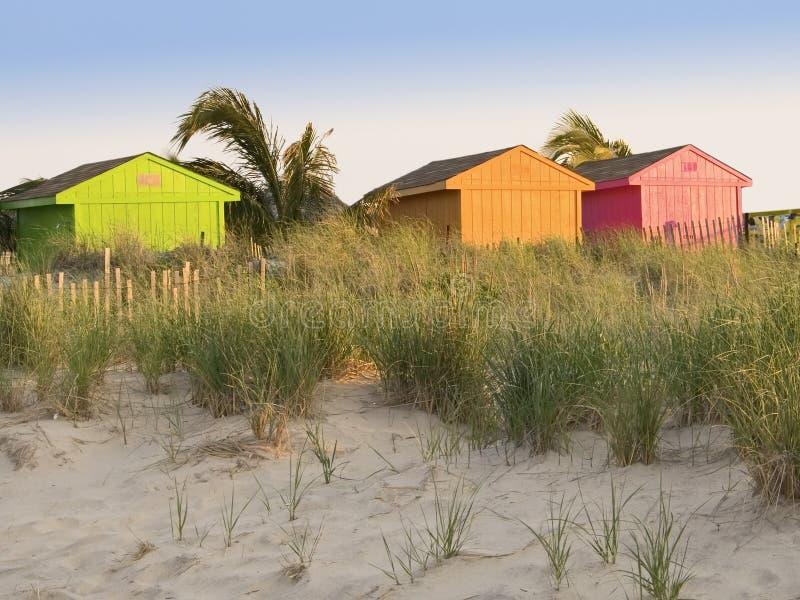 Colors On Beach Royalty Free Stock Photos