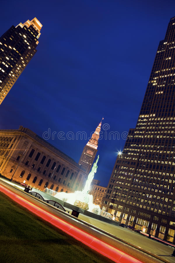 Colors of Cleveland royalty free stock image
