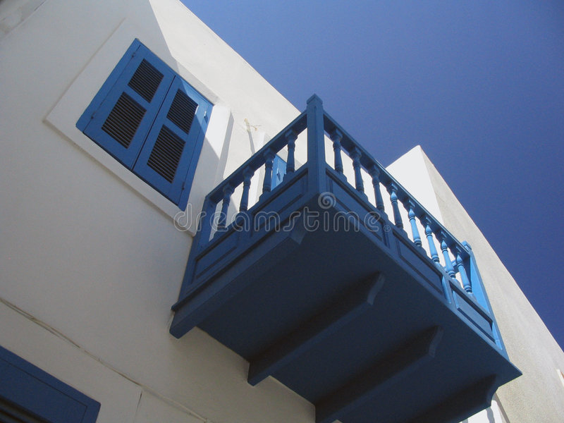 The colors of greece royalty free stock photography