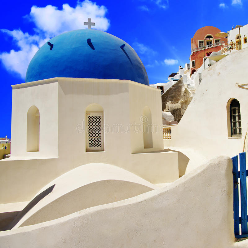 Colors of Greece royalty free stock photo