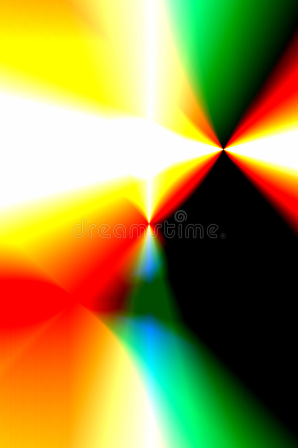 Colors and lights royalty free illustration
