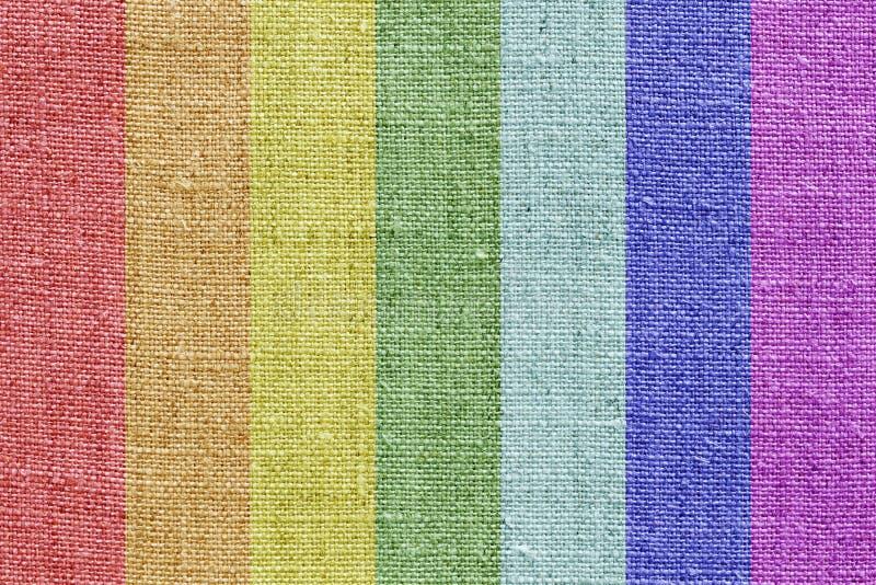 colors linneregnbågetextur arkivfoto