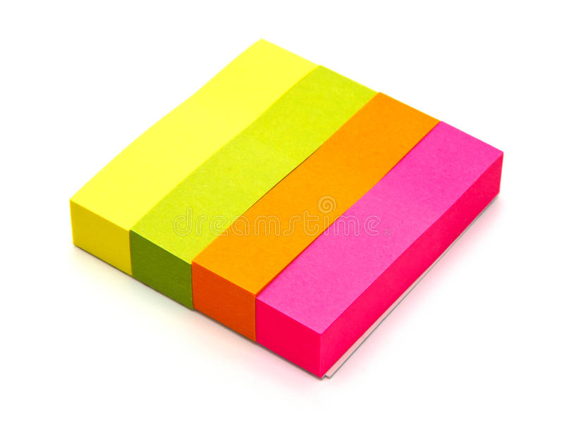 Download Colors note paper stock image. Image of label, illustration - 39504703