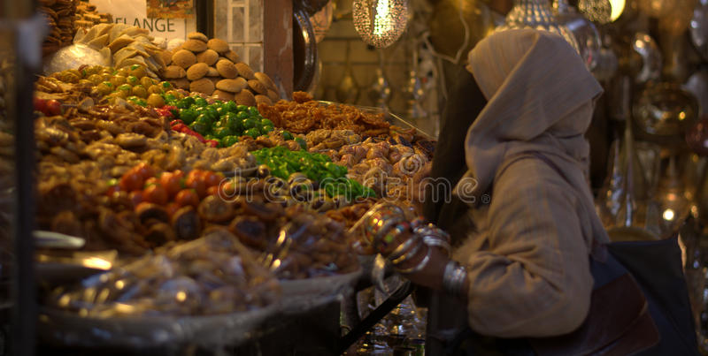 Download Colors in oriental markets stock photo. Image of casablanca - 97411714