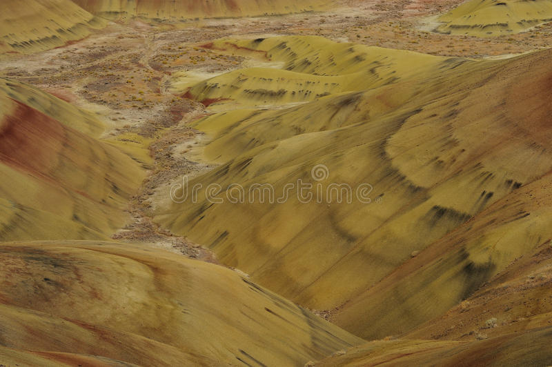 Download Colors of painted hills stock image. Image of john, outdoor - 21871413