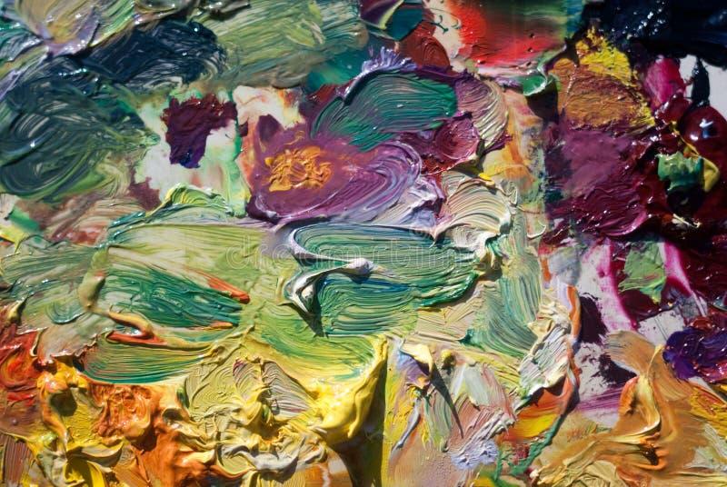 colors paletten royaltyfri fotografi