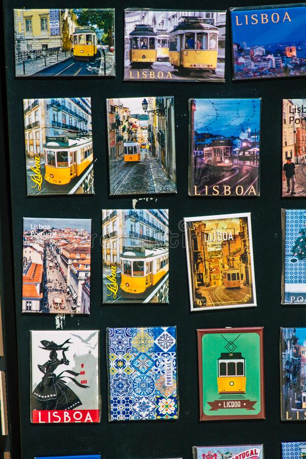Colors of Portugal royalty free stock photography
