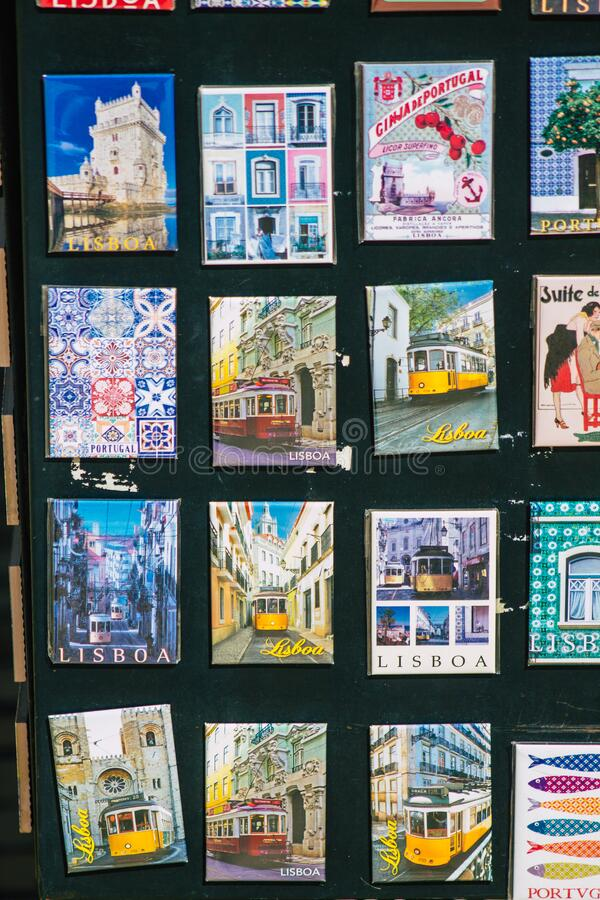 Colors of Portugal stock photography