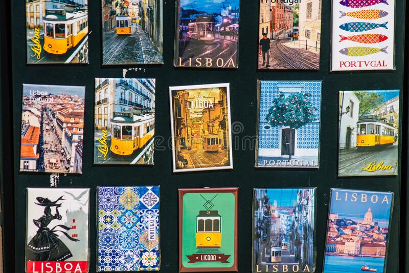 Colors of Portugal royalty free stock images