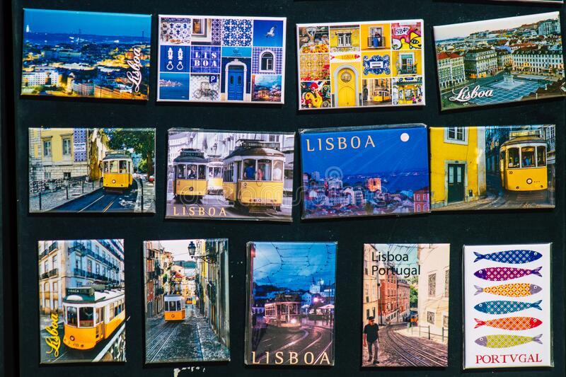 Colors of Portugal stock images