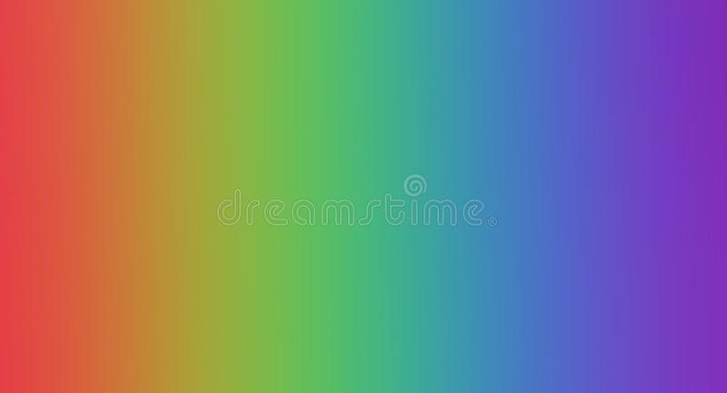 Colors of rainbow. color concept in nature. bright colorful autumn maple leaf. copy spaces. vector illustration