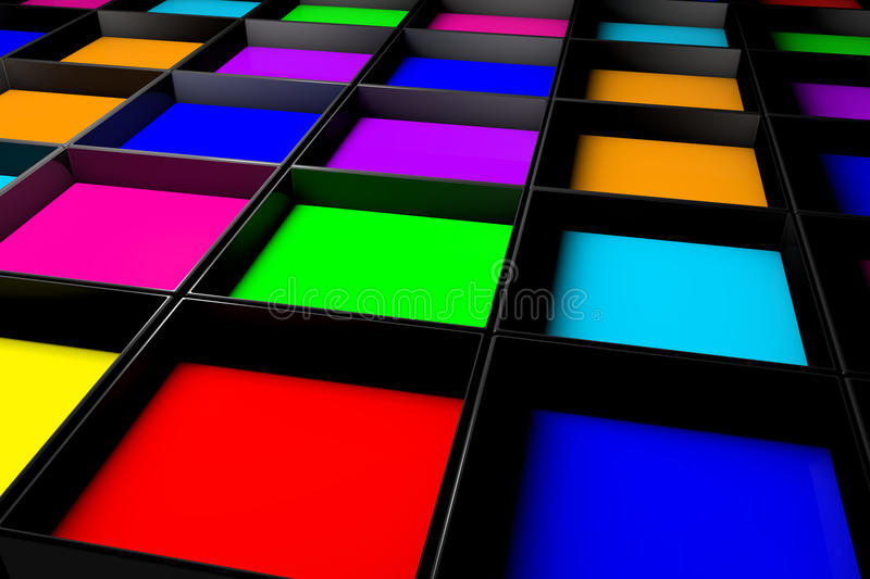 Colors Royalty Free Stock Photography